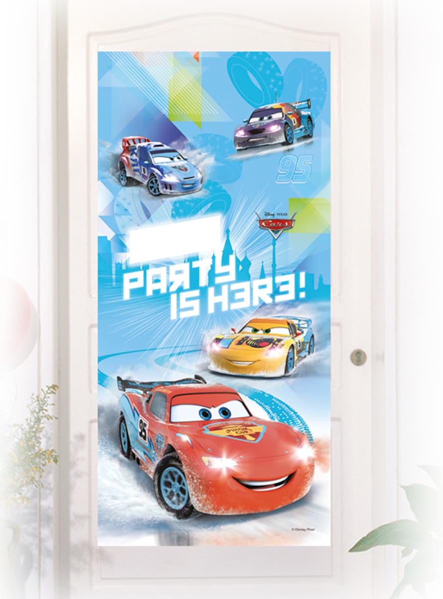 Cartel de puerta cars ice entrega r pida funidelia for Cartel puerta