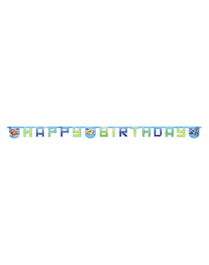 Cars Ice Happy Birthday Banner