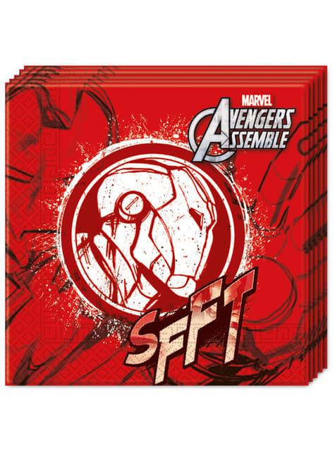 Set of 20 Teen Avengers Napkins
