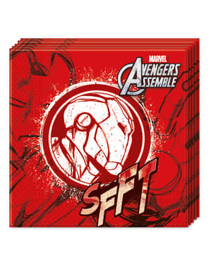 Zestaw 20 serwetek The Avengers Teen