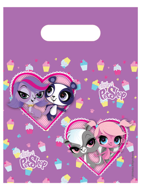 Set de 6 bolsas Littlest Pet Shop Cupcake