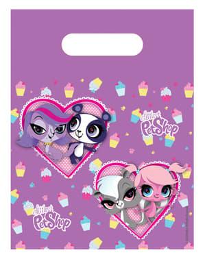 6 Littlest Pet Shop Cupcake Bags