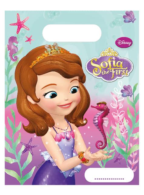 Set de 6 bolsas La princesa Sofía