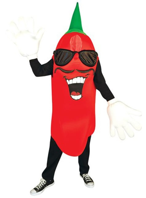 Adults Spicy Chilli Pepper Costume