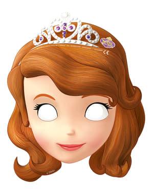 6 masques Princesse Sofia