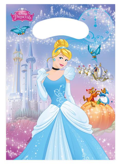 Set de 6 bolsas La Cenicienta Fairytale