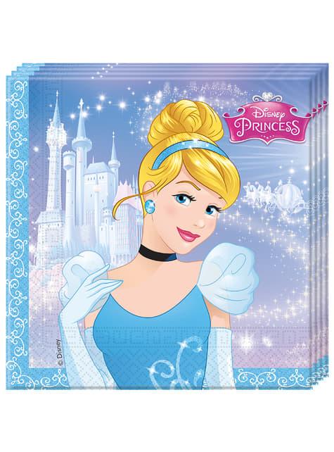 Set de 20 servilletas La Cenicienta Fairytale