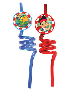 2 Jake and the Never Land Pirates Straws