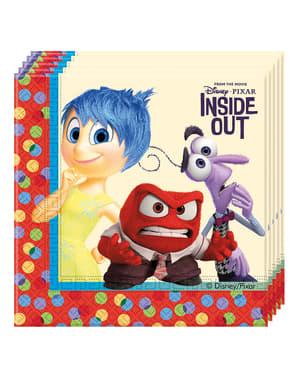 Inside Out - Alles steht Kopf Servietten Set 20 Stück