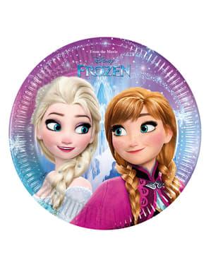 """8 чинии на """"Замръзналото кралство""""(20cm)– Frozen Northern Lights"""