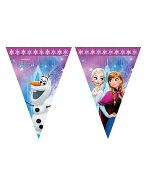 Banner stegulețe Regatul de gheață (Frozen) Northern Lights