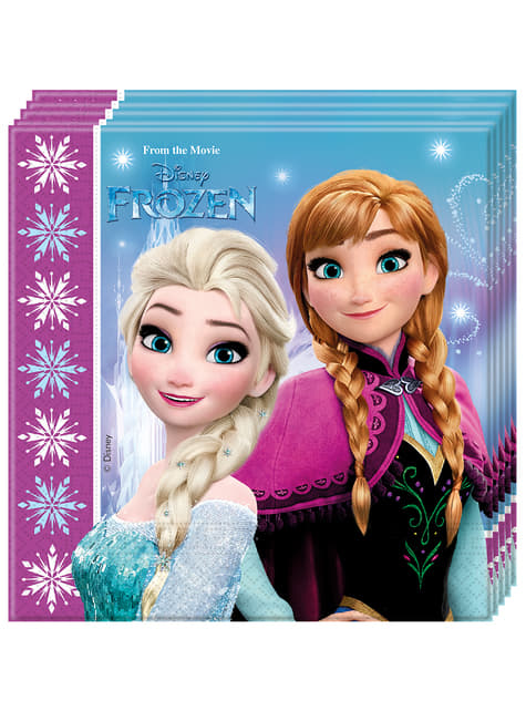 Set de 20 servilletas Frozen Northern Lights