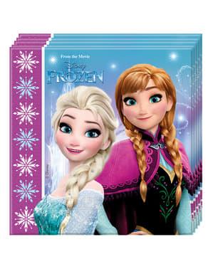 """20 салфетки на""""Замръзналото кралство""""(33х33cm)– Frozen Northern Lights"""