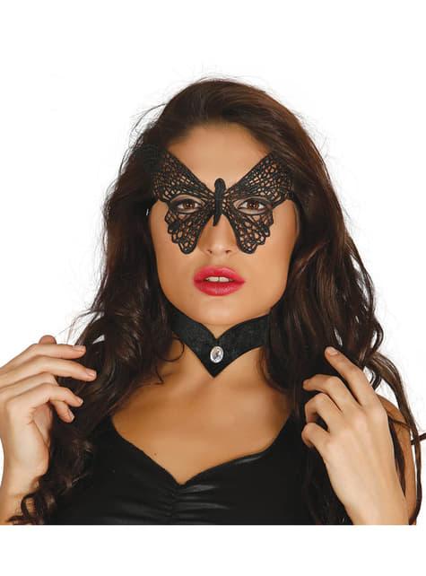 Antifaz de mariposa para mujer