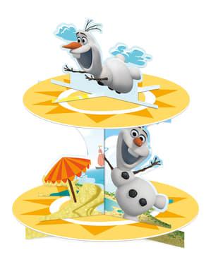 Présentoir Cupcakes Olaf Summer