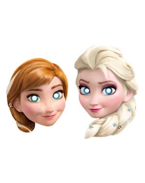 Sett med 6 Frozen Alpin Masker
