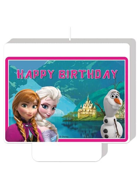 Vela Happy Birthday Frozen Alpine
