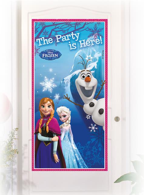 Cartel de puerta Frozen Alpine