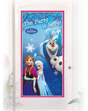 Plagát na dvere Ľadové kráľovstvo