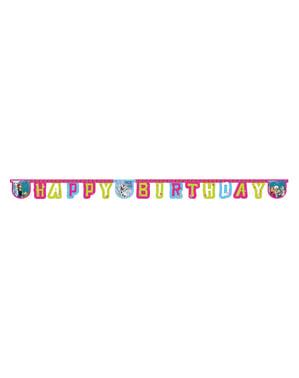 Girlang Happy birthday Frozen Alpine
