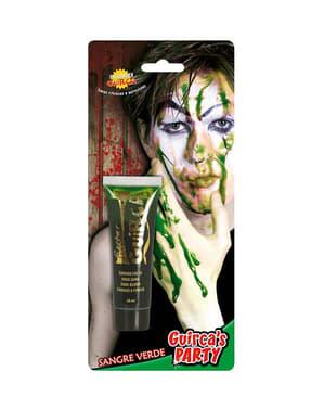 Sangre verde en tubo