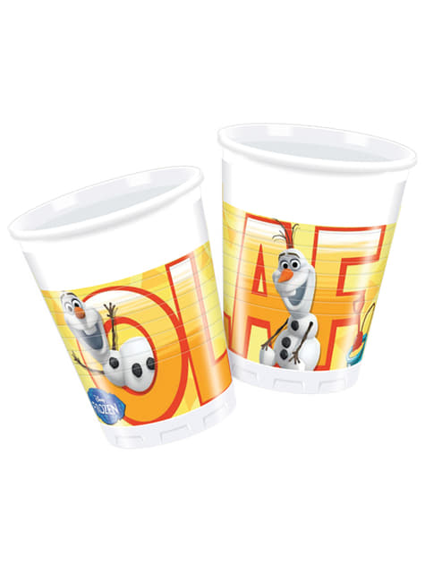 Set de 8 vasos Olaf Summer