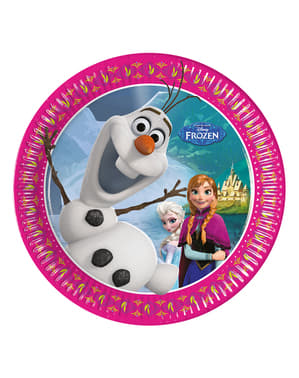 Set 8 borden Frozen Alpine 20 cm
