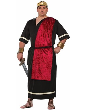 Fato de romano em preto