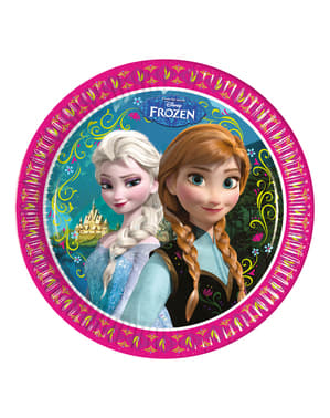 8 platos Frozen Alpine 23 cm
