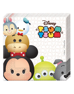 20 Serviettes en papier personnages Disney