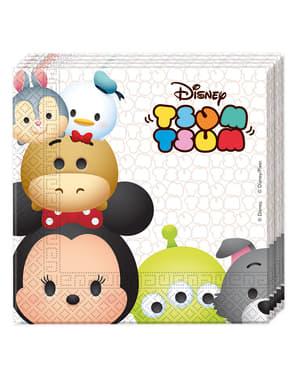 Set 20 tovaglioli personaggi Disney (33x33 cm)