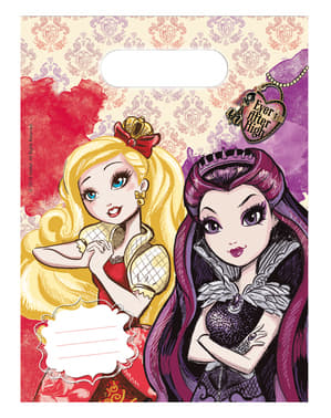 Set of 6 Ever After High Bags