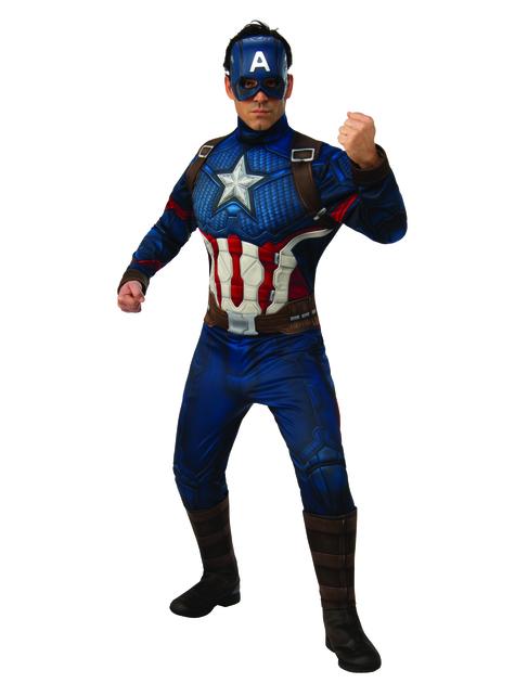 Disfraz de Capitán América Vengadores: Endgame deluxe