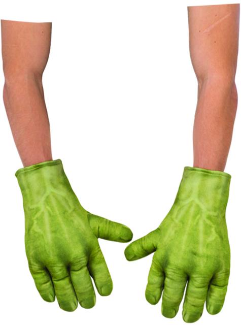 Guantes de Hulk para niño acolchados