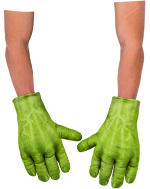 Guanti di Hulk per bambino imbottiti