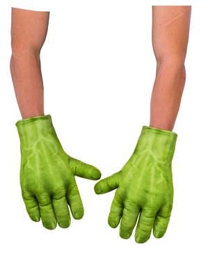 Polstrované rukavice Hulk
