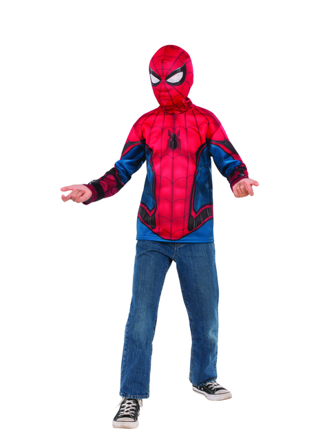 Kit disfraz de Spiderman para niño
