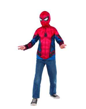 Kit disfarce de Homem-Aranha para menino