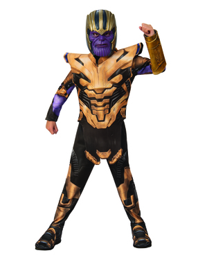 Thanos Kostyme til Gutter - The Avengers