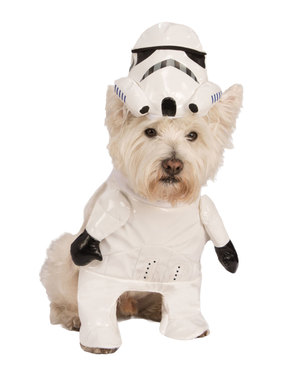 Déguisement Stormtrooper Star Wars pour chien