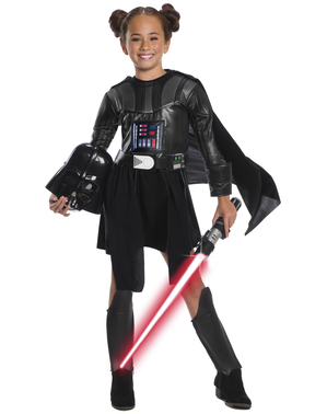 Darth Vader Drakt Kostyme til Jenter - Star Wars