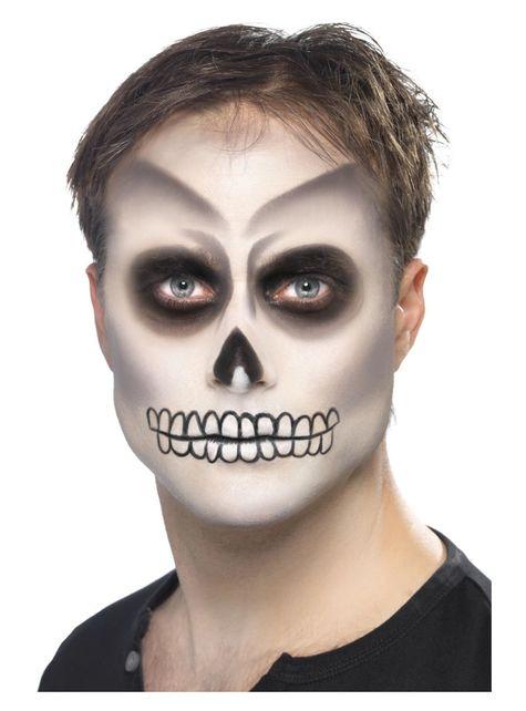 Conjunto de maquilhagem de esqueleto