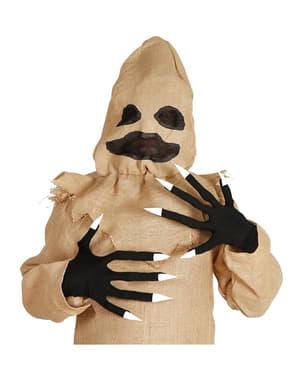 Guanti con unghie Halloween per adulti