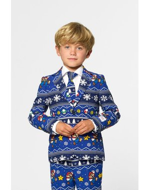 Opposuits Super Mario Bros Christmas Kostym barn