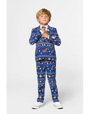 Super Mario Bros Kerst Opposuit voor jongens