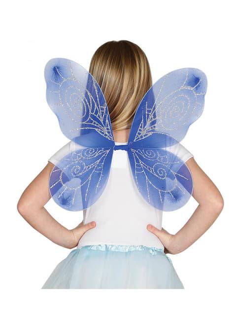 Kids Blue Wings