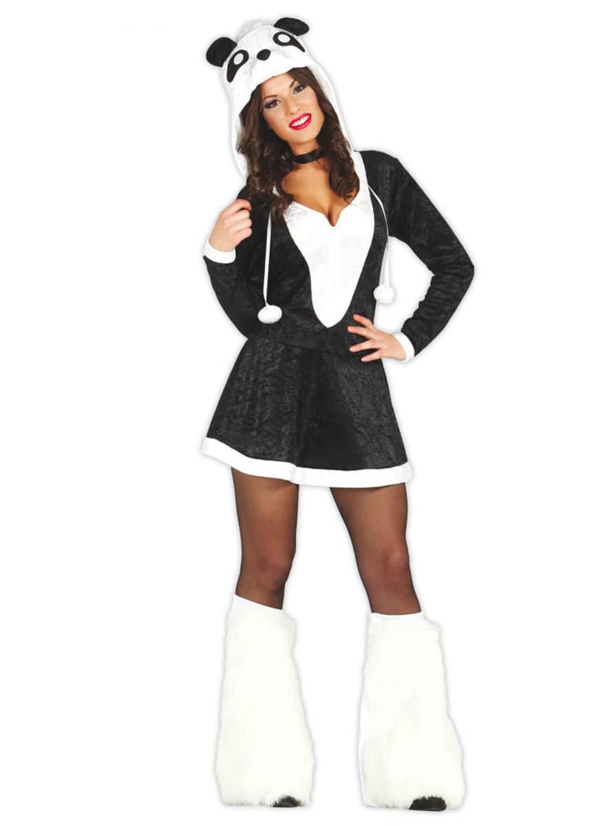 panda suit hot girl