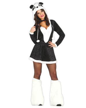 Costum de ursuleț panda pentru femeie