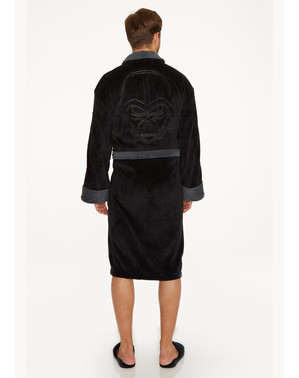 Darth Vader Fleece Bathrobe for Adults - Star Wars