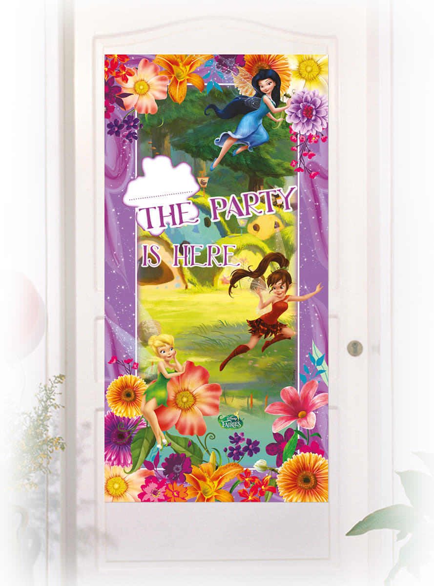Cartel de puerta fairies magic comprar online en funidelia for Cartel puerta